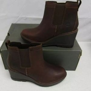 Timberland Women's Kellis Chelsea Boots Brown US 8